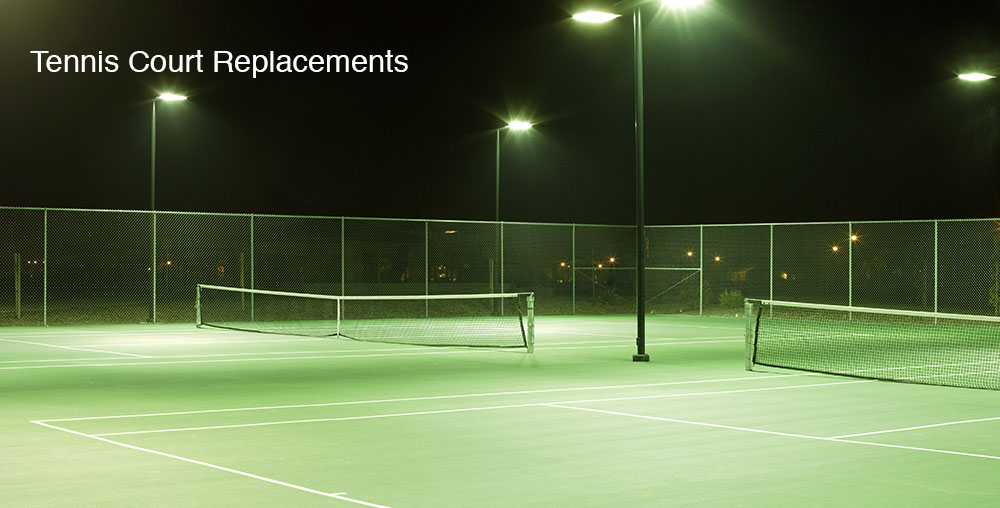 Tennis Court Installation & Replacement | Sportzing Court Care